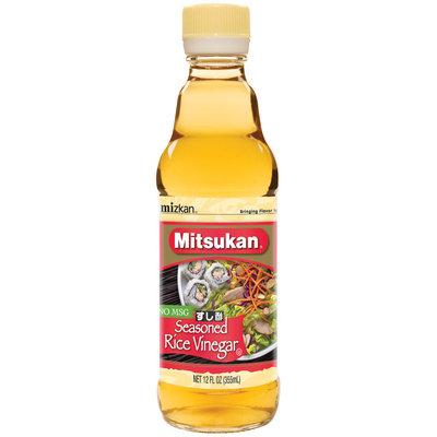 Mitsukan Seasoned No Msg Rice Vinegar 12 Fl Oz Glass Bottle