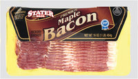 Stater Bros.® Maple Hickory Smoked Bacon 16 oz Package
