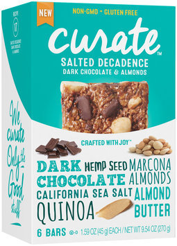 Curate™ Salted Decadence Snack Bars 6-1.59 oz. Packs