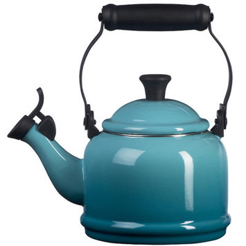 Le Creuset Tea Kettle, 1.25 Qt. Demi