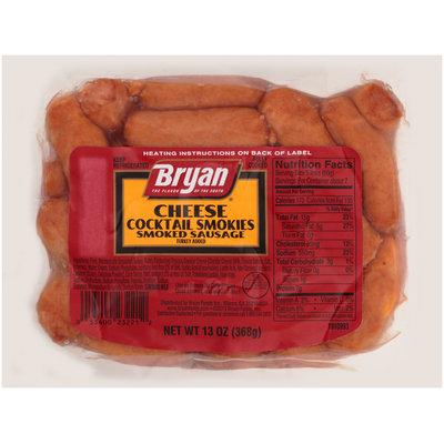 Bryan® Cheese Cocktail Smokies Smoked Sausage 13 oz. Pack