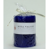 Mill Valley Candleworks Lily of the Valley Scented Pillar Candle Size: 4