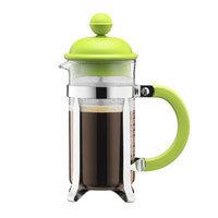 Bodum Caffettiera French Press Coffee Maker Color: Green, Size: 12 oz.