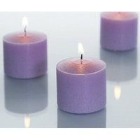 Light In The Dark Unscented Votive Candles (Set of 36) Color: Black