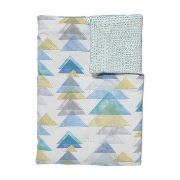 Dwellstudio Triangles Play Blanket