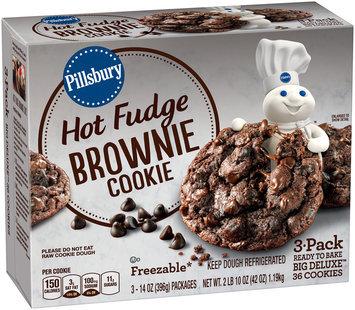 Pillsbury Big Deluxe™ Hot Fudge Brownie Cookies 3-14 oz. Packs