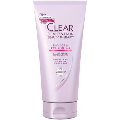 Clear Scalp & Hair Beauty Therapy™ Damage & Color Repair Deep Nourishing Treatment Mask 6 fl. oz. Tube