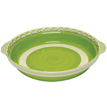 Thompson And Elm Colors Casserole Dish Color: Lime/Green