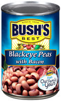 Bush's Best® Black Eyed Peas with Bacon 15.5 oz. Can