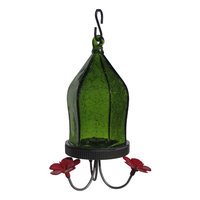 tures Way Jewel Hummingbird Feeder - Green - 18 oz.