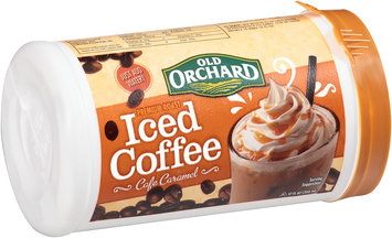 Old Orchard Premium Roast Cafe Caramel Iced Coffee 12 fl. oz. Canister