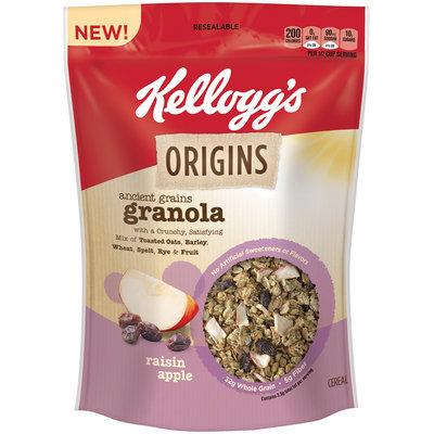 Kellogg's Origins™ Ancient Grains Granola Raisin Apple Cereal 12.5 oz. Bag