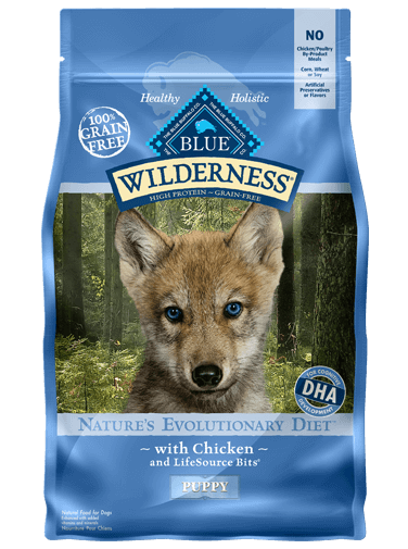 THE BLUE BUFFALO CO. BLUE™ Wilderness® Chicken For Puppies