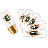 Paragon - Manufactured Fun 8051SC Hot Dog Paper Bag Standard - 1000 Bags/Case