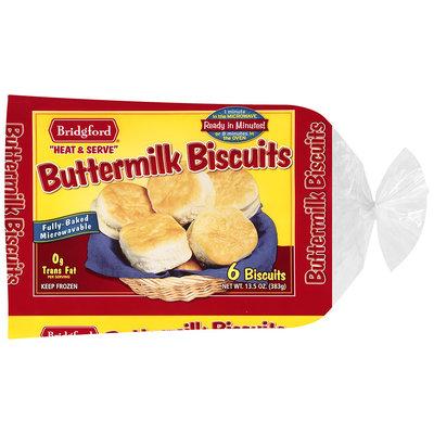 Bridgford® Buttermilk Biscuits 6 ct