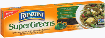 Ronzoni® SuperGreens™ Thin Spaghetti 12 oz. Box