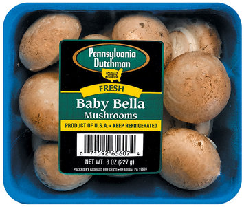 Pennsylvania Dutchman Fresh Baby Bella Mushrooms