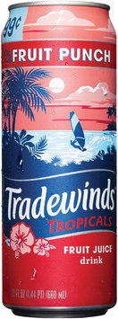 Tradewinds Pre-Priced Fruit Punch Fruit Juice 23 fl. oz. Can