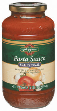 Haggen Traditional Pasta Sauce 30 Oz Jar