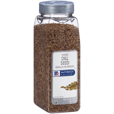 McCormick® Culinary™ Whole Dill Seed 15 oz. Shaker
