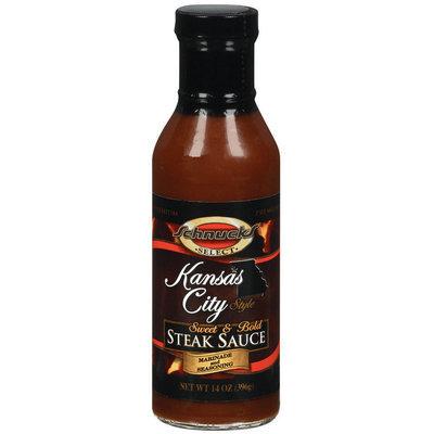 Schnucks Kansas City Style Steak Sauce Marinade & Seasoning 14 Oz Bottle