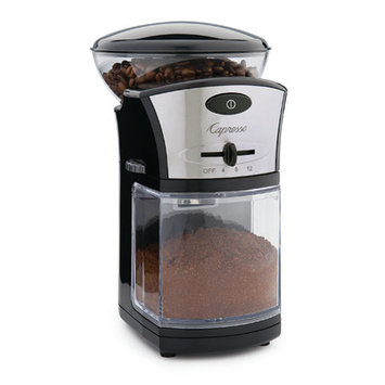Capresso Stainless Steel Coffee Burr Grinder
