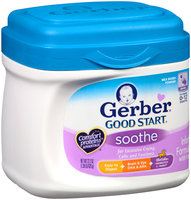 Gerber® Good Start® Soothe Powder Infant Formula with Iron 22.2 oz. Canister