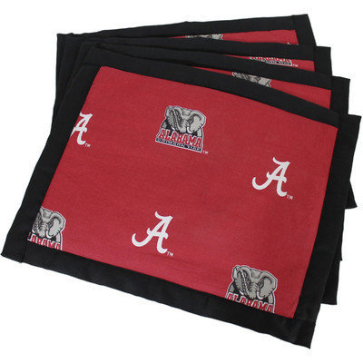 Alabama Placemat with Border Set of 4 by College Covers