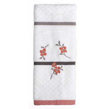 Saturday Knight Coral Garden Hand Towel
