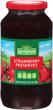 Springfield® Strawberry Preserves