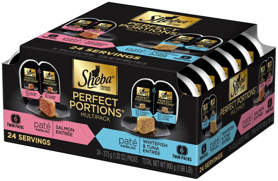 Sheba® Perfect Portions® Multipack Premium Cat Food 24-1.32 oz. Packs