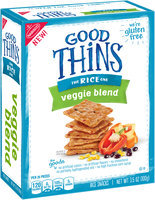 Good Thins Veggie Blend Rice Snacks 3.5 oz. Box