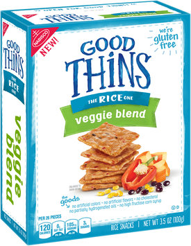 Good Thins Veggie Blend Rice Snacks 3.5 oz. Box