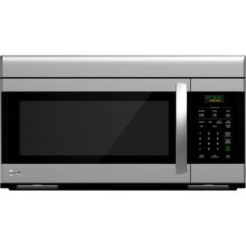 LG - 16 Cu Ft Over-the-Range Microwave - Stainless-Steel