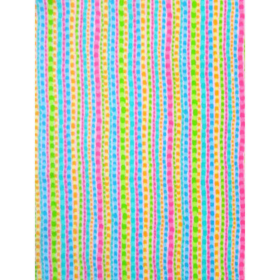 Stwd Pearl Stripes Pack N Play Fitted Sheet