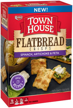 Town House® Spinach, Artichoke & Feta Flatbread Crisps 9.5 oz. Box