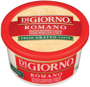 DiGiorno Romano Grated Cheese 6 Oz Tub
