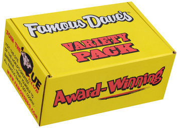 Famous Dave's® Variety Pack 7 pc Box