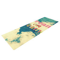 Kess Inhouse Dream On by Robin Dickinson Clouds Yoga Mat