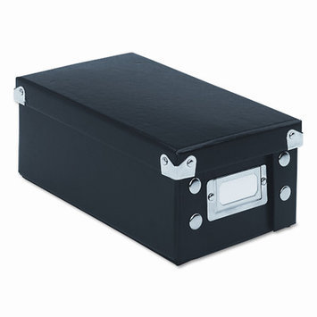 IdeaStream Snap N Store Collapsible Index Card File Box