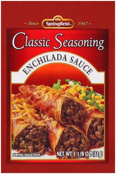 Springfield® Enchilada Sauce Classic Seasoning 1-1/8 oz Packet