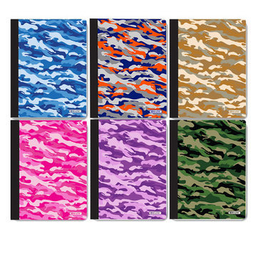 Bazic C/R 100 Ct. Camouflage Composition Book