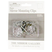 Stanley Monarch 6 Pack Plastic Mirror Mounting Clips 208300
