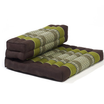 My Zen Home Dhyana Meditation Cushion Color: Sage / Brown
