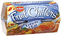 Fruit Chillers™ Frosty Peach Frozen Fruit Sorbet 4-4.5 oz. Cups