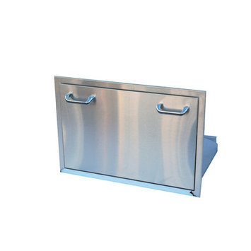 The Outdoor Greatroom Company Outdoor Greatroom Company Ice Chest Drawer - Stainless Steel