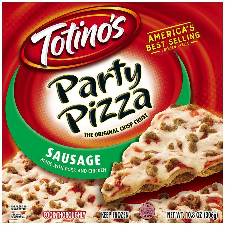 Totino's® Sausage Party Pizza® 10.8 oz. Box