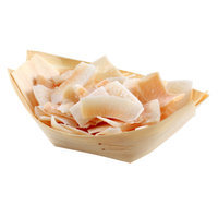 Restaurantware Pinewood Boat (200 Count) Size: Small