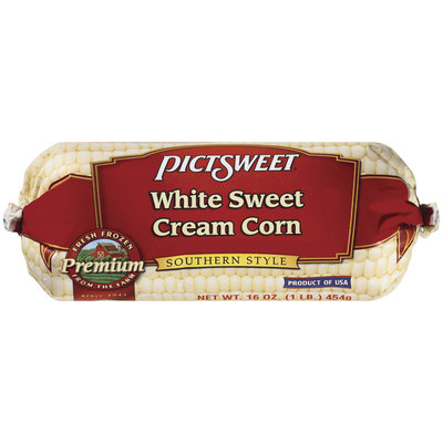 PICTSWEET Southern Style White Sweet Cream Corn 16 OZ CHUB