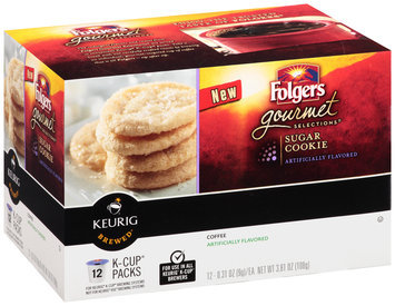 Folgers Gourmet Selections® Sugar Cookie Coffee K-Cup Packs 12 ct Box